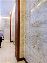 Calacatta Luis Sanchez Marble Wall Application