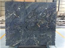 Blue Persa Granite Tiles Slabs for Countertop Flooring