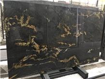 Fusion Black Granite Tiles Slabs Flooring Kitchen