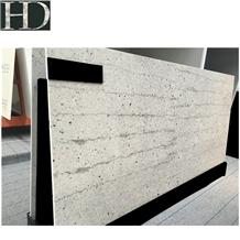 Artificial River White Quartz Slabs & Tiles