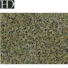 China Emerald Green Star Granite Polish Slab Tile