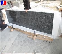 Polished Silver Pearl Granite Countertops Island