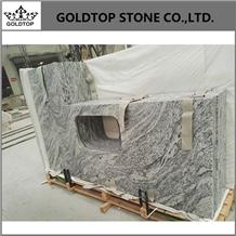Honed Viscont White Granite for Kitchen Countertop