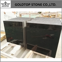 Inland High Polished Absolute Black Marble Tiles