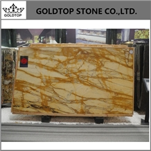 Italy Honed Low Price Giallo Sienna Marble Slabs