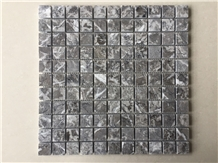Grey Lido Marble Classic Mosaic Bathroom Wall Tile