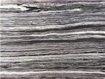 Aqua Black Marble
