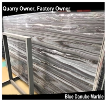 Blue Danube/Blue Gold Sand Marble Tiles&Slabs