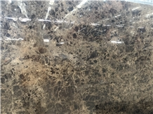 Dark Emperador Marble Slab/Tile for Wall Cladding