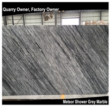 Meteor Shower Grey Marble Tile/Slab, Lio Marble Cut to Size Polished for Floor&Wall