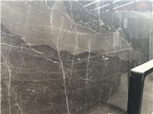 Mousse Brown Marble Slab & Tile for Flooring