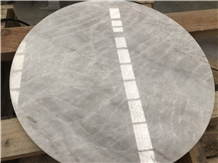 Natural Stone King/Well White Marble for Tabletop