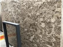 Own Factory Crystal Emperador Light Marble Slab