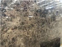 Own Factory Dark Emperador Marble Slab & Tile