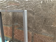 Own Factory Italy Grey Marble Polished Slab/Tile