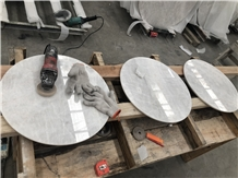 Own Factory King/Well White Marble for Tabletops