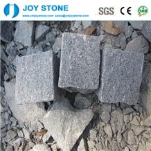 Cheap Dark Grey Granite G654 Cobblestone Pavers