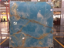 Good Quality Blue Onyx Slabs for Sale