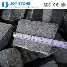 Hot Sale Dark Black Granite Curb Stone