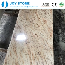 Polished Sivakasi Gold Granite Kitchen Bench Tops