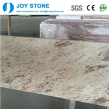 Polished Sivakasi Gold Indian Granite Countertops