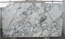 Arabescato White Marble Slab Interior