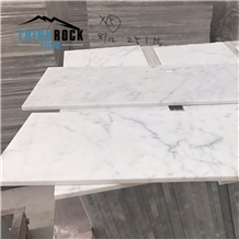 Fine Lines Snow White Marble Tiles