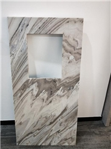 Lightweight White Marble Honeycomb Counter Tops