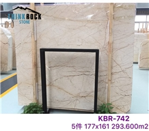 Sofitel Gold Beige Marble Walling Tiles & Slabs