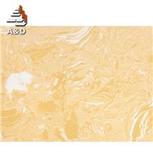 Beige Artificial Marble Engineered Slabs