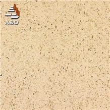 Beige Crystallized Glass Slabs Solid Surfaces