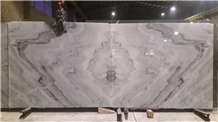 Crystal White Marble Slabs