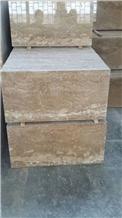 Nescafe Travertine Slabs & Tiles, Iran Brown Travertine