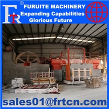 Monolama Gangsaw Machines for Europe Stone Factory