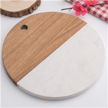 Acacia Wooden Chopping Board Marble Cutting Board