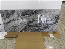 China Colombo Juparana Symphony Black Granite Slab