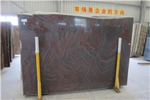 Dahlia Noir Iron Red Dragon Red Quartzite Slabs
