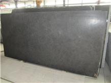 Wholesale 2cm Leather Honed Black Limestone Slabs