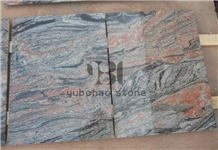 Cano Red/Multicolor Red/Fantasy Red Granite Tiles