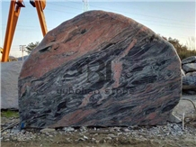 Fantasy Red/Cheap Granite/Garden Decor Boulders