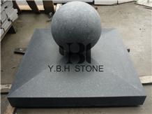 G684, China Cheap Granite Columns/Spherical Shafts