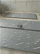 Granite Black Via Lactea Tiles,Jet Mist, Kitchen