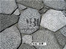 Sesame White/G684, China Granite Flagstone,Outdoor