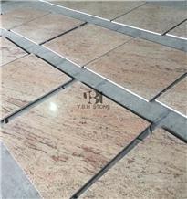 Shiva Gold Granite Tiles/Slabs, Floor Covering