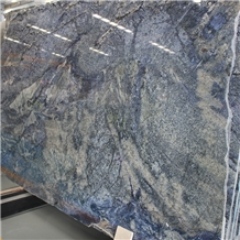 Brazil Azul Bahia Blue Granite Slabs
