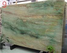 Brazil Verde Gaya Green Quartzite Slabs