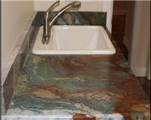 Brazilian Van Gogh Quartzite Countertop