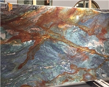 Brazilian Van Gogh Quartzite Stone Slabs