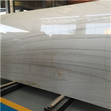 Brazilian White Macaubas Quartzite Slabs and Tiles