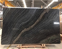 Cheap Price Antique Wood Black Marble for Floor